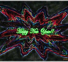 Yarn Star-Happy New Year!! by Bea Godbee