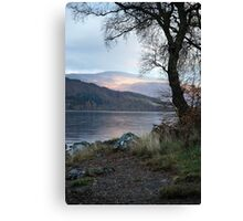 Loch Rannoch Shores Canvas Print