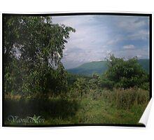Mountainous Land Poster
