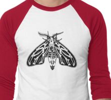 Death's-head Moth Men's Baseball ¾ T-Shirt