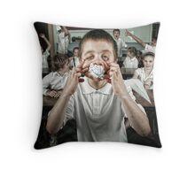 School Daze - Class Clown (part 2) Throw Pillow