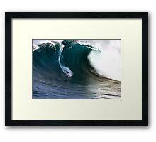 ' Jaws ' Framed Print