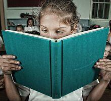 School Daze - Bookworm by Alicia Adamopoulos