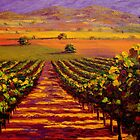 Provençal Vineyard Farmland by sesillie