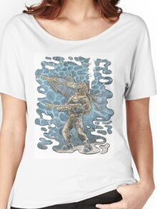 Diving Suit from 20,000 Leagues Under the Sea Women's Relaxed Fit T-Shirt