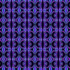Tribal Visions GeometricAbstract Pattern 3 by Leah McNeir