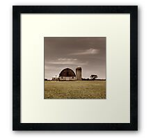 Dry Earth Crumbles Between My Fingers and I Look to the Sky for Rain Framed Print