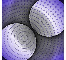 Circles and dots Photographic Print