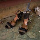 Abandoned Ladies heels by DariaGrippo