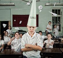 School Daze - Dunce by Alicia Adamopoulos