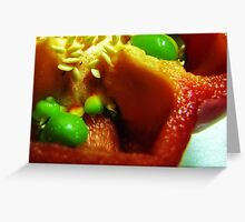 Prolific Bell Pepper Greeting Card