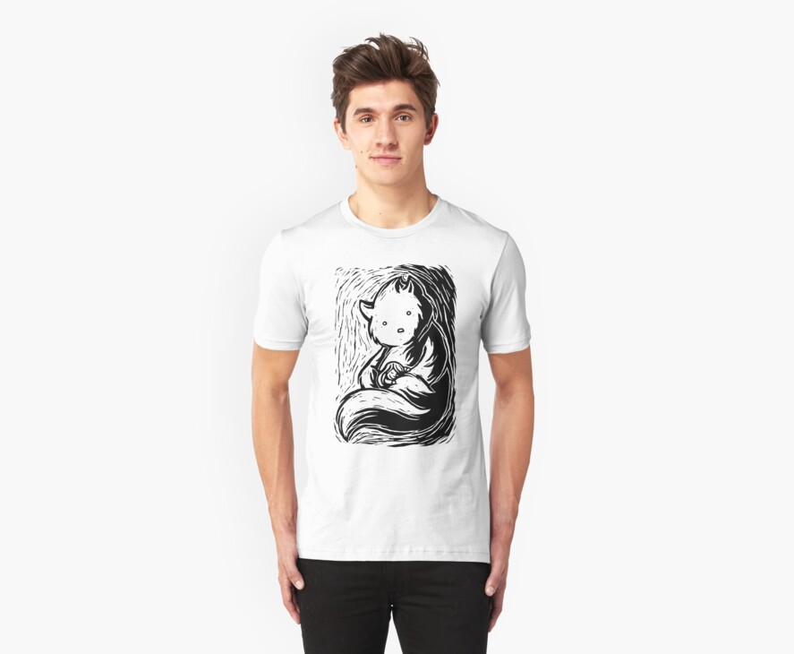 Safe In Your Arms Dark Shirt by Ine Spee