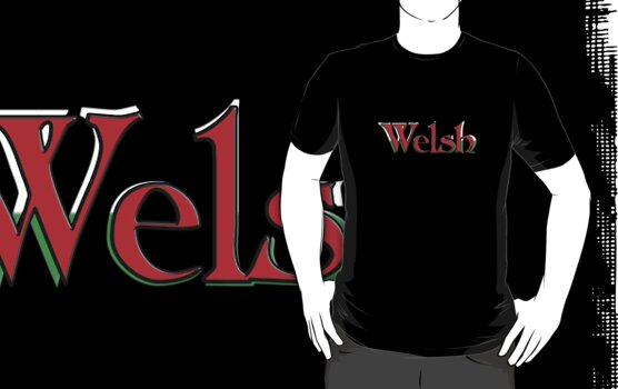 Welsh Tee by Rob Davies
