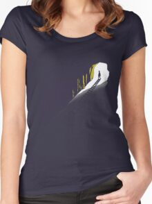 The Tracks of my Life Women's Fitted Scoop T-Shirt
