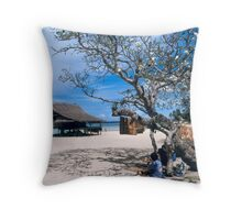 Boga-Boga Village, Papua New Guinea 2008 Throw Pillow