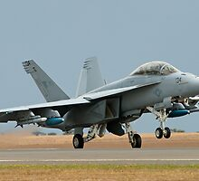 Super Hornet Take-off by Nathan T