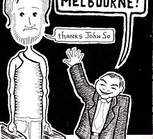 """The Messiah in Melbourne"" by Joshua  Callaghan"