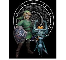 The Legend of Link and the Twilight Princess Photographic Print