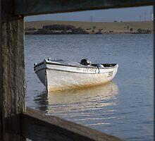 Framed Boat – Lake Illawarra NSW by CasPhotography