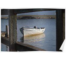 Framed Boat – Lake Illawarra NSW Poster