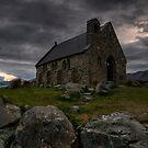 Good Shepherd Dawnpan by Robert Mullner
