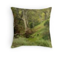 The Forest Will Give Us The Answers Throw Pillow