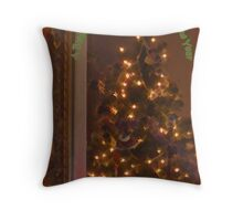 A Blessed Christmas Throw Pillow