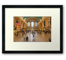Grand Central Terminal Framed Print