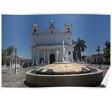 Iglesia de Suchitoto Poster