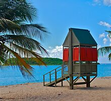 Sun Bay life guard hut by marcy413
