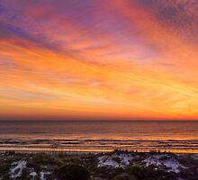 Colorful Coastal Daybreak by Kenneth Keifer
