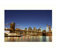 Brooklyn Bridge Art Print