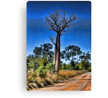 Dramatic Boab Tree Canvas Print