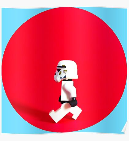 Trooper Red Poster