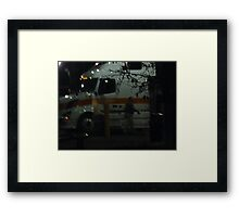 Fuel And Coffee Framed Print
