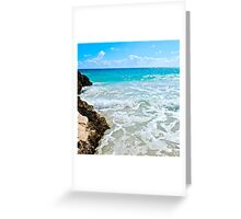 caves of Navio Beach | Vieques Greeting Card