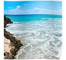 caves of Navio Beach | Vieques Poster