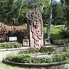 Mayan Art at Parque Saburo Hirao, El Salvador by Karla76