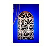 Moroccan Window Art Print