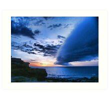 Broome WA cloud formation Art Print