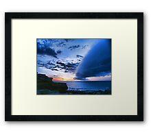 Broome WA cloud formation Framed Print