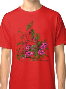 Flowers and Vines Classic T-Shirt