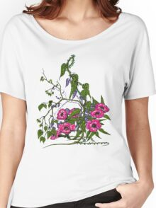 Flowers and Vines Women's Relaxed Fit T-Shirt