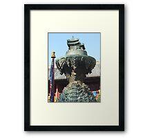 Lama Temple, Beijing Framed Print