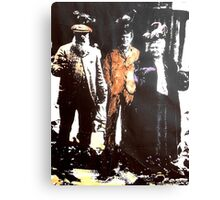 Claude And Alice Monet With Me. ( Time Travel ) Canvas Print