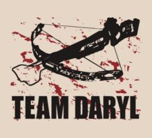 Team Daryl Dixon The Walking Dead Black by SOVART69