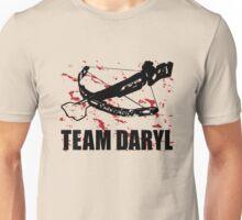 Team Daryl Dixon The Walking Dead Black Unisex T-Shirt