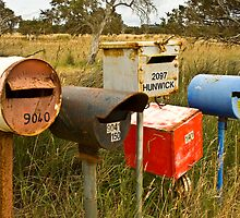 Roadside Mail Boxes by pennyswork