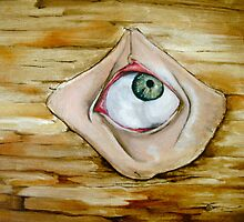 Eye on Wood by Dontae