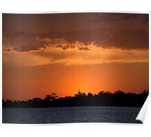 Sandringham Sunset Poster